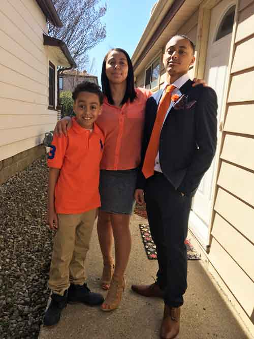 Nicole and sons